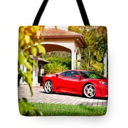 Ferrari F430 On Adv1 Wheels 2 Tote Bag