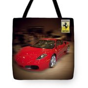 Ferrari F430 - The Red Beast Tote Bag