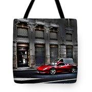 Ferrari In Rome Tote Bag