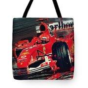 Ferrari - Michael Schumacher  Tote Bag