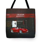 Ferrari Pininfarina Rossa Concept Tote Bag