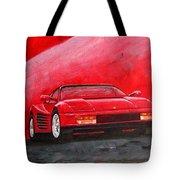 Ferrari Testarrossa Tote Bag