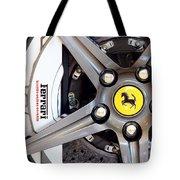 Ferrari Wheel Op 121915 Tote Bag