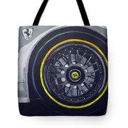 Ferrari Wheel Tote Bag