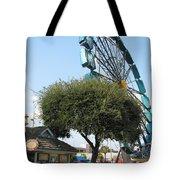 Ferris Upside Down Tote Bag
