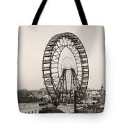 Ferris Wheel, 1893 Tote Bag