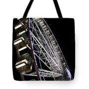 Ferris Wheel At Night 16x20 Tote Bag