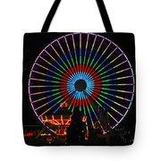 Ferris Wheel In Wildwood New Jersey Tote Bag