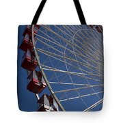 Ferris Wheel Iv Tote Bag