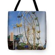 Ferris Wheel Santa Cruz Boardwalk Tote Bag