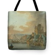 Ferry Across A River Tote Bag