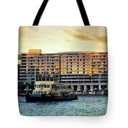 Ferry And The Toaster Tote Bag