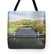 Ferry Bridge Burton On Trent Tote Bag