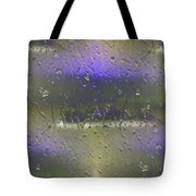 Ferry In The Fog Tote Bag