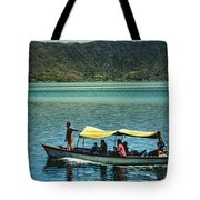 Ferry - Lago De Coatepeque - El Salvador I Tote Bag