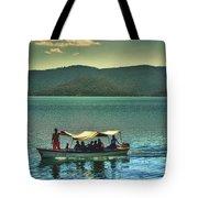 Ferry - Lago De Coatepeque - El Salvador Tote Bag