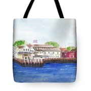 Ferry To Greenport Tote Bag