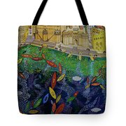 Ferry To The City Of Gold II Tote Bag