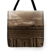 Ferry's End Tote Bag