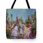 Festival Of Color Tote Bag