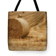 Festival Of Hay Balls In Scotland Tote Bag