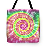 Festival Spiral Bright Colors- Art By Linda Woods Tote Bag
