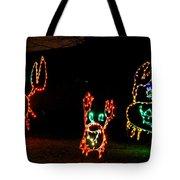 Festive Crab Decorations Tote Bag