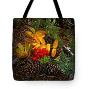 Festive Elements Tote Bag