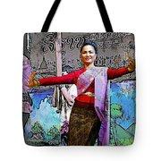 Festive Folk Dance Tote Bag