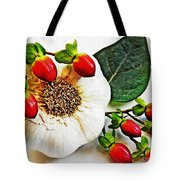 Festive Garlic Tote Bag