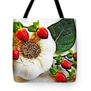 Festive Garlic Tote Bag