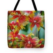 Festive Orchids Tote Bag