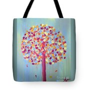 Festive Tree Tote Bag