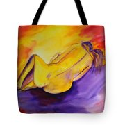 Fetal Position Tote Bag