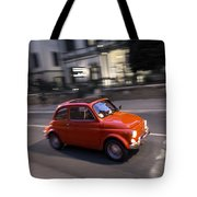 Fiat 500, Italy Tote Bag
