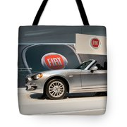 Fiat 124 Spider Tote Bag