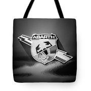 Fiat Abarth Emblem -ck1611bw2 Tote Bag