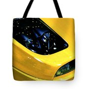 Fiat Coupe In Yellow Tote Bag