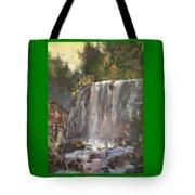 Fictitious Falls Tote Bag