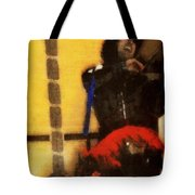 Fiddle Frenzy Tote Bag