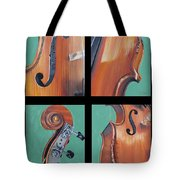 Fiddle Quartet Tote Bag
