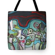 Fiddleheads 5 Tote Bag