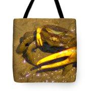 Fiddler Crab Pano Tote Bag