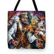 Fiddler From The Sky Tote Bag