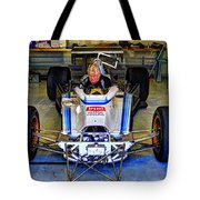 Fiddling About Indy Garages Tote Bag