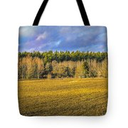 Field And Sky.  Tote Bag