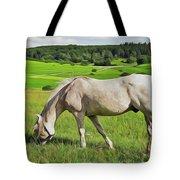 Field Dreams Tote Bag by Harry Warrick