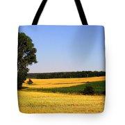 Field Flow Tote Bag