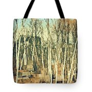Field Of Birch Tote Bag