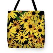 Field Of Black-eyed Susans Tote Bag